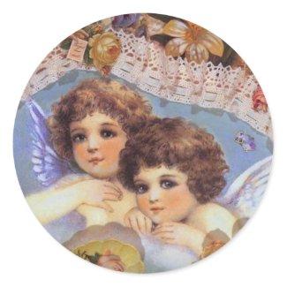 Vintage Angel Stickers sticker