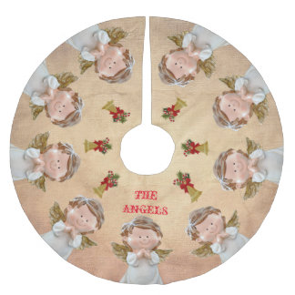 Vintage Angel Tree Skirt