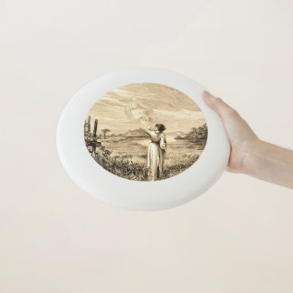 vintage angel Wham-O frisbee