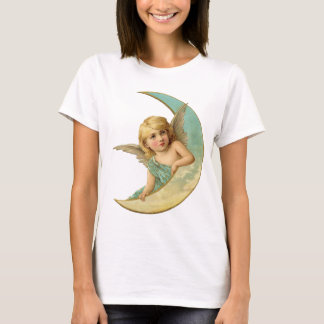 Vintage Angel with the Moon Shirt
