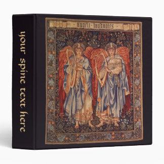 Vintage Angels, Angeli Laudantes by Burne Jones 3 Ring Binders