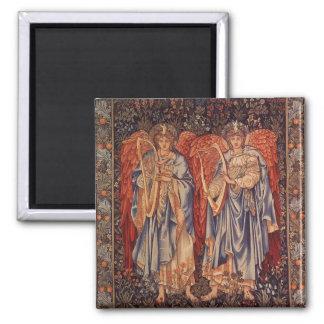 Vintage Angels, Angeli Laudantes by Burne Jones Magnet
