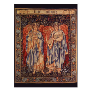 Vintage Angels, Angeli Laudantes by Burne Jones Postcard