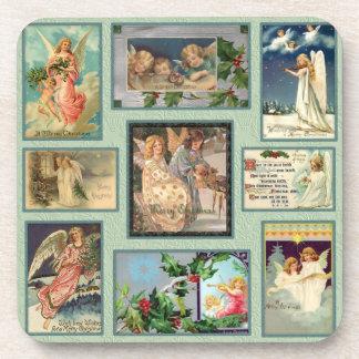 Vintage Angels Beverage Coaster