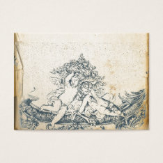 Vintage Angels Business Card at Zazzle