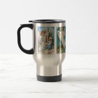 Vintage Angels Christmas Mug