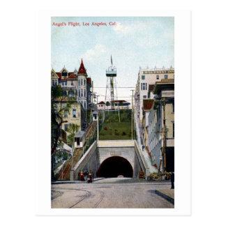 Vintage Angel's Flight Los Angeles Postcard