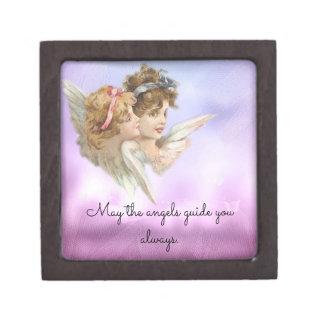 Vintage Angels Jewelry Box