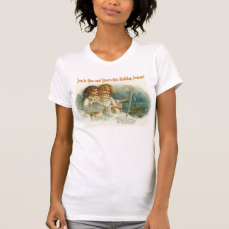Vintage Angels Singing and Harp CH200 T-shirt