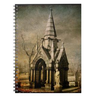 Vintage Angels Spiral Notebook