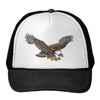 Vintage Angry Eagle Tattoo Art Trucker Hat