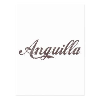 Vintage Anguilla Postcard