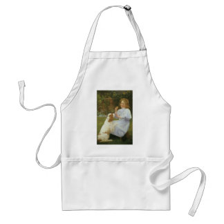 Vintage Animal Art, Pleasures of Hope by Gore Adult Apron