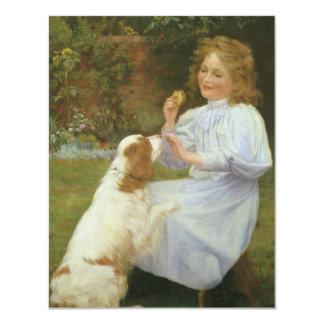 Vintage Animal Art, Pleasures of Hope by Gore Card