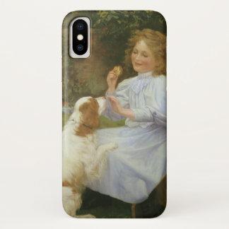 Vintage Animal Art, Pleasures of Hope by Gore iPhone X Case