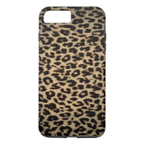 Vintage animal texture of leopard iPhone 7 plus case