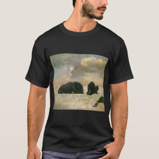 Vintage Animals, Grizzly Bears by Albert Bierstadt T-Shirt