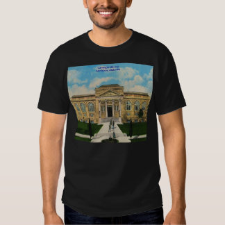 Vintage Anniston, Alabama Carnegie Library Tee Shirt