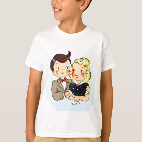 Vintage Anniversary Couple T-Shirt
