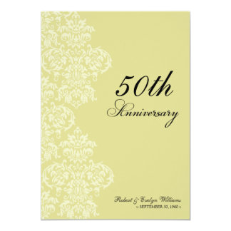 Vintage Anniversary Party Invite (champagne)