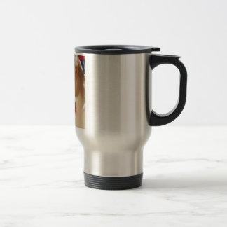 Vintage announcement of Spanish Beer 15 Oz Stainless Steel Travel Mug