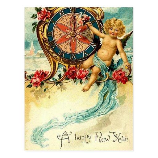 Vintage: Año Nuevo - Postales