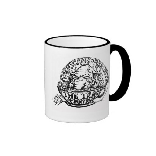 Vintage Anti-Tea Party Elephant Mug