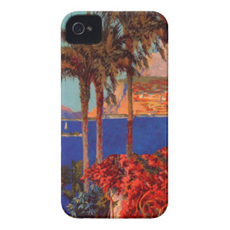 Vintage Antibes Cote D'Azur Travel iPhone 4 Case-Mate Cases