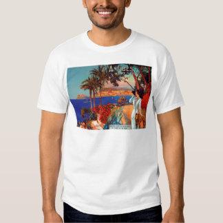 Vintage Antibes Cote D'Azur Travel Shirt