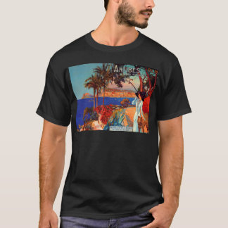 Vintage Antibes Cote D'Azur Travel T-Shirt