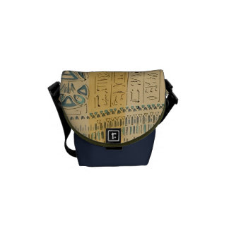 Vintage Antique Ancient Egyptian Royalty Courier Bag