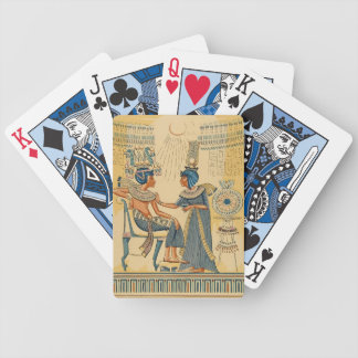 Vintage Antique Ancient Egyptian Royalty Playing Cards