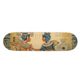 Vintage Antique Ancient Egyptian Royalty Skateboard Deck