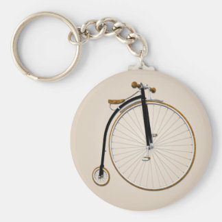 Vintage Antique Bicycle Keychain