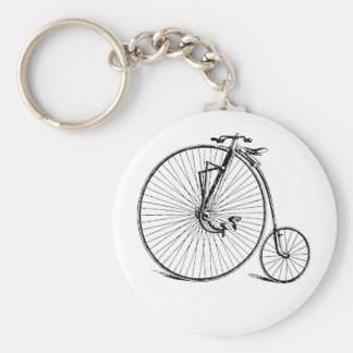 Vintage Antique Big Wheel Bicycle Key Chains