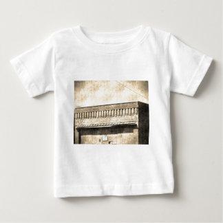 Vintage Antique Building Baby T-Shirt