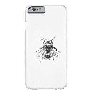 Vintage, Antique Bumble Bee Illustration Barely There iPhone 6 Case