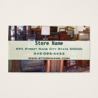 Vintage Antique Business Card