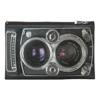 Vintage Antique Camera Case Cover Travel Accessories Bag