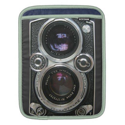 Vintage Antique Camera Case Cover iPad Sleeve
