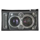 Vintage Antique Camera Case Cover Makeup Bag