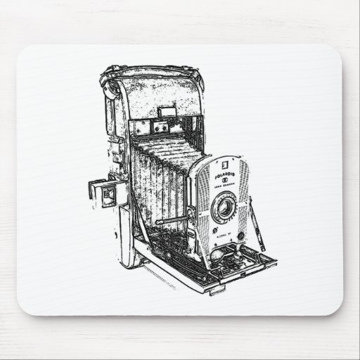 Vintage Antique Camera Mouse Pad