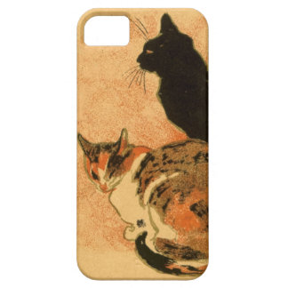 Vintage Antique Cats Theophile Steinlen Animals iPhone SE/5/5s Case