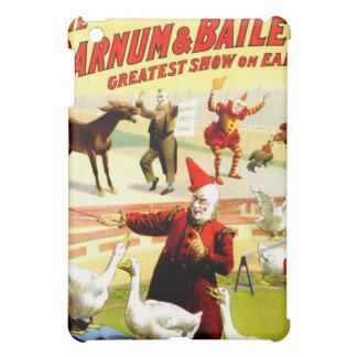 Vintage Antique Circus Clown Act iPad Mini Cases