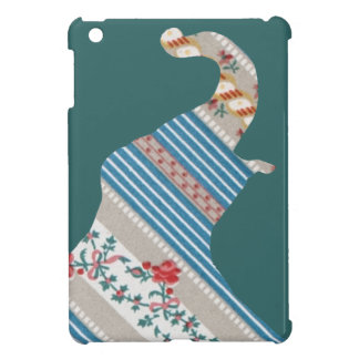 Vintage Antique Elephant Pattern Wallpaper Floral Cover For The iPad Mini
