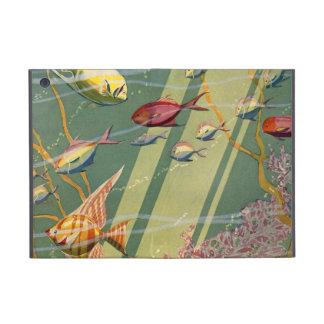 Vintage Antique Fish Undersea Ocean Sea Colorful Cover For iPad Mini