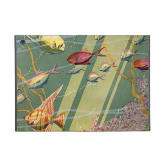 Vintage Antique Fish Undersea Ocean Sea Colorful iPad Mini Cover