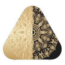 Vintage,antique,gold,black,pattern,chic,elegant, Speaker