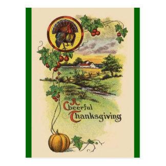 Vintage Antique Happy Thanksgiving Postcard