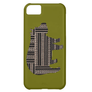 Vintage Antique Hippo Ethnic Pattern Tribal Cover For iPhone 5C